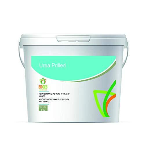 Bioges Urea Prilled 2 kg -Concime Semplice ad Alto Titolo di Azoto