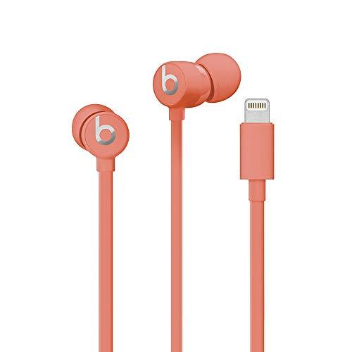 Urbeats3In-EarKopfhörer mit Kabel und Lightning Connector– verknotungsfreies Kabel, magnetische In-EarKopfhörer, integriertes Mikrofon und Bedienelemente– Koralle