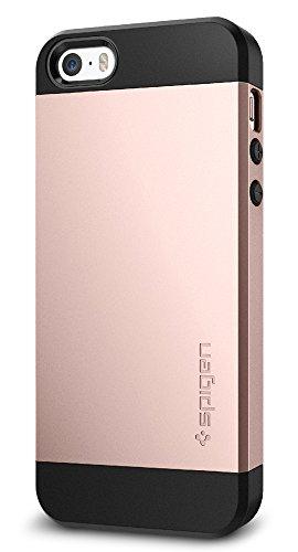 Spigen Slim Armor Designed for Apple iPhone SE Case (2016) - Rose Gold