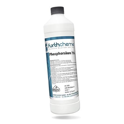 Phosphorsäure 75% | Entroster, Rostlöser, Rostentferner | 1,00 L