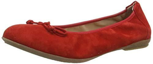 Richter kinderschoenen meisjes Lilly gesloten ballerina's, rood (fire 4110), 34 EU