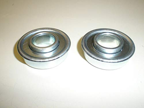 Flanged Steel Roller Bearings fits 189159 ehp Wheel New!