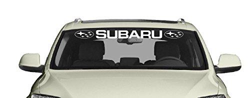 Sport Auto Aufkleber passt zu Subaru Car Windschutzscheiben Heckscheiben Sticker / Plus Schlüsselringanhänger aus Kokosnuss-Schale / Auto racing Tuning Hoonigan XV Forester Impreza WRX STI BRZ