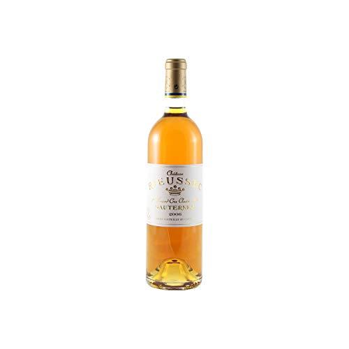 Château Rieussec Weißwein 2006 - g.U. Sauternes süßer - Bordeaux Frankreich - Rebsorte Sémillon, Sauvignon Blanc, Muscadelle - 75cl
