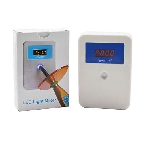MZBZYU Medidor de luz LED Dental,Probador de Energía de Curado por luz para Lámpara de polimerización Dental