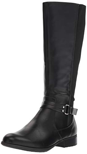LifeStride Womens X-Anita Knee High Boot, Black, 9 M US