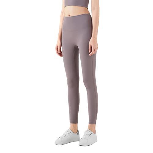 QTJY Pantalones de Yoga de Cintura Alta para Mujer, Leggings, Pantalones de Fitness al Aire Libre, Pantalones Deportivos de Secado rápido elásticos Suaves, Pantalones de Yoga GL