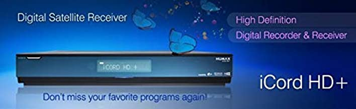 Humax iCord HD+ (500GB & 3 Cards) Universal with All Cards Satellite Receiver