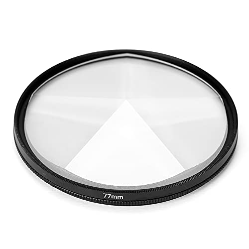 Docooler Accessori per fotografia di film di sfocatura del primo piano di fotografia del filtro della fotocamera 77 mm Accessori per fotocamera