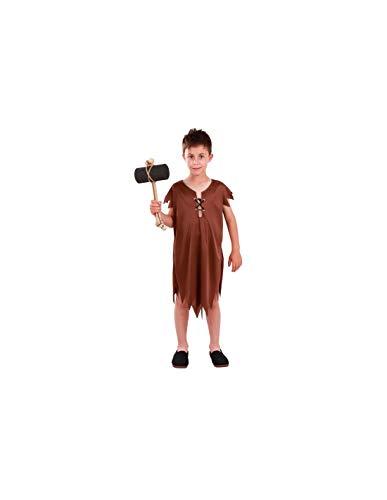 DISBACANAL Disfraz de troglodita Pablo Infantil - -, 10 aos
