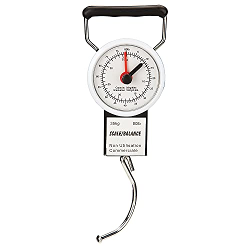 GForce Luggage Scale with Built in Measuring Tape, Multicoloured
