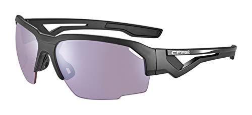 Cébé Unisex's Hilldrop zonnebril, mat zwart, groot