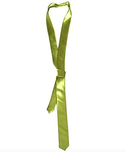 N&B Herren Damen Krawatte Schlips Top Design neon-grün