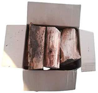 Legna Da Ardere Alta Qualità per Camini e Stufe, Pezzi di Legno da 25 centimetri | 6 Cartoni Da 15 kg - 90 kg