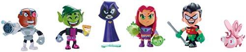 Teen Titans Go! - Pack de 6 Mini Figuras (Mattel DXR07)