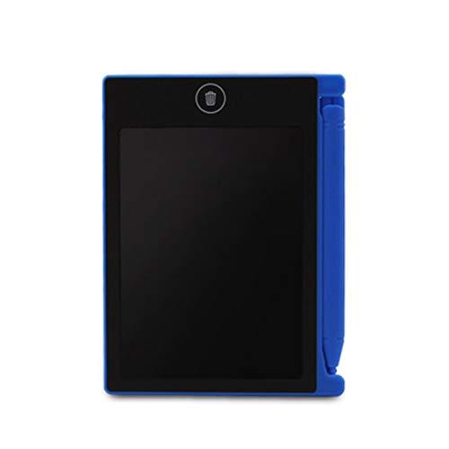 Preisvergleich Produktbild 4, 4 Zoll Mini-Schreibtablett Digital LCD-Zeichenblock Elektronische Praxis Handschrift Malerei Tablet Pad Geschenk für Kinder (blau) -BCVBFGCXVB