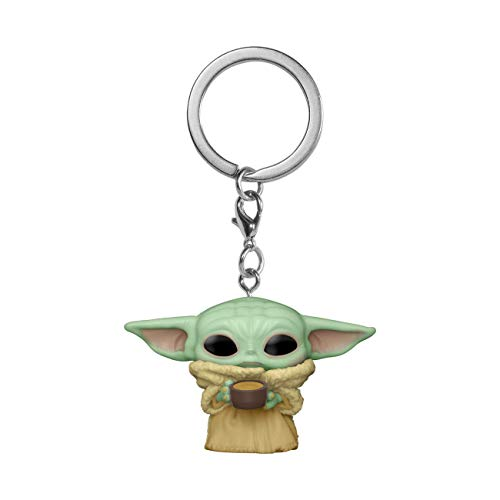 Funko Pop! Keychain: The Mandalorian - The Child with Cup