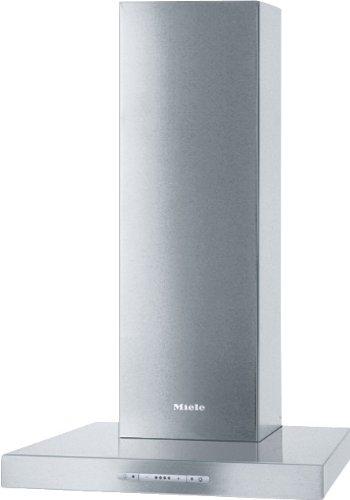 Miele PUR 60 W Wandhaube / Breite: 59.8 cm / Edelstahl / Spülmaschinengeeignete Edelstahl-Metall-Fettfilter / Renigungsfreundliches CleanCover