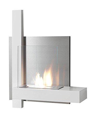 Wink Design, Kokka, Caminetto A Bioetanolo, Bianco, 80 x 57 x 18 cm