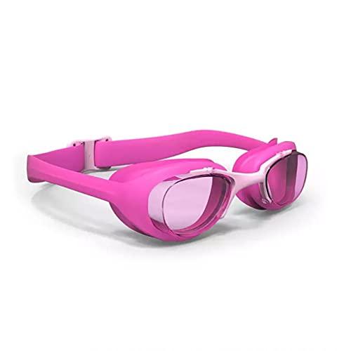 Schwimmbrille Antifog 100% UV Schutz für Kleinkinder einstellbar Pink