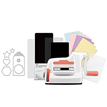 Bira Craft Die Cutting & Embossing Machine Combo Mini Die Cut Machine 3 1/8  feeding slot for 3  paper and other materials