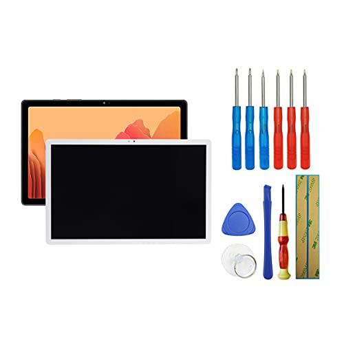 Fruisiy Pantalla LCD para Samsung Galaxy Tab A7 10.4 2020 SM-T500 SM-T505 blanco cristal táctil de repuesto + herramientas