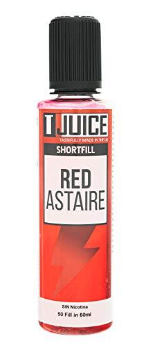 T Juice   Red Astaire   Saborizante Shortfill 50ml para Cigarrillos Electrónicos de Vapeo   Sin Nicotina