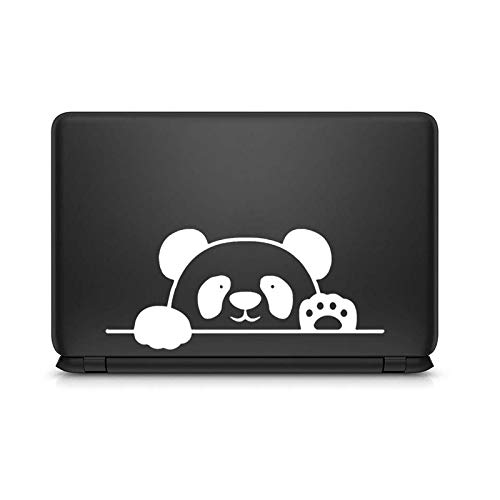 Cute Panda Baby Laptop Sticker for Macbook Pro 16' Air Retina 11 12 13 15 Mac Surface Book Skin 14' Vinyl Notebook Decal-White Decal-Other 12 inch Laptop