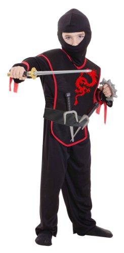 Christys - Ccs00004 - Set Costume + Accessoires - Ninja