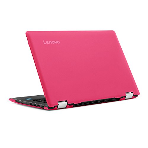 Funda rígida mCover para 14 pulgadas de Yoga 510 computadoras portatiles (** NO compatible con Yoga 530 / Yoga 520 de 14 pulgadas ** ) (Rosa)