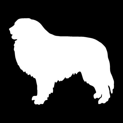 MCTYLI Decoratieve stickers voor honden Car Styling raamsticker dieren vegen zwart band