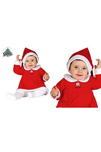 GUIRMA Traje Mama Noel 6-12 Meses Gorro+Vestido