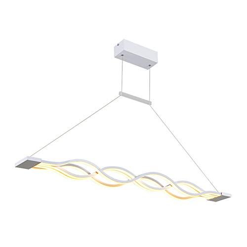 OOFAY 4-Light Lineare Luci Pendenti Faretto Altro Metallo Acrilico Stile Mini con LED Bianco Caldo/Bianca,CoolWhite