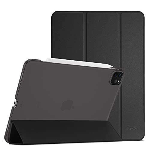 ProHülle Hülle für iPad Pro 11 Zoll 3rd Generation 2021/5G, Ultra Dünn Leicht Ständer Schal Schutzhülle Smart Hülle Cover -Schwarz