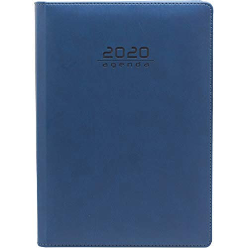 Makro Paper AGENDA 20 MK 170x240 DIA PAGINA PVC CLASIC AZUL