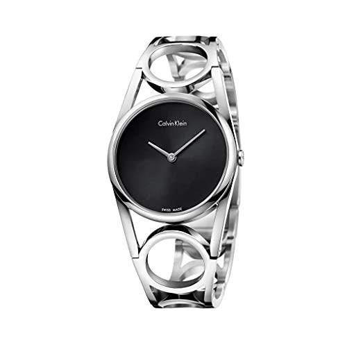 Calvin Klein Orologio Analogico Quarzo da Donna con Cinturino in Acciaio Inox K5U2S141