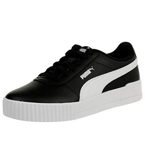 PUMA Carina L, Zapatillas para Mujer, Negro Black White White, 39 EU