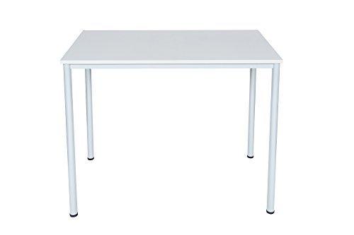Dila GmbH Stehtisch Besprechungstisch Mehrzwecktisch Universaltisch Tisch Bistrotisch Stehpult Pausentisch | Höhe: 112,5 cm | 6 Größen | 6 Farben | Metallgestell (Anthrazit, 120 x 60 cm)