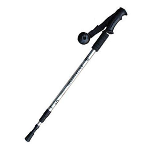Outdoor-Ausrüstung in Vier Farben erhältlich, Trekkingstöcke, Spazierstöcke, Spazierstöcke, ultraleichte Teleskop-Spazierstöcke aus Aluminiumlegierung