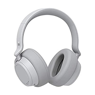 Microsoft Surface Wireless Bluetooth Noise-Cancelling Headphones (Platinum)