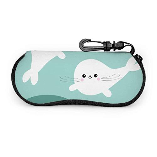 Gafas de sol Estuche blando, conjunto de cachorro de foca de arpa...