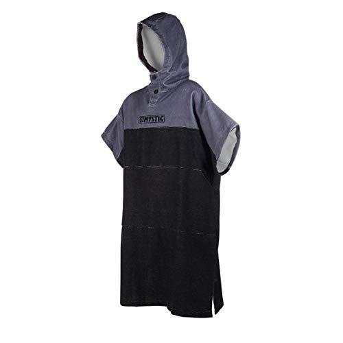 Mystic Wetsuit Poncho - Black/Grey ONE SIZ