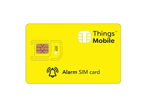 SIM Card per ALLARME e ANTIFURTO - Things Mobile - copertura...