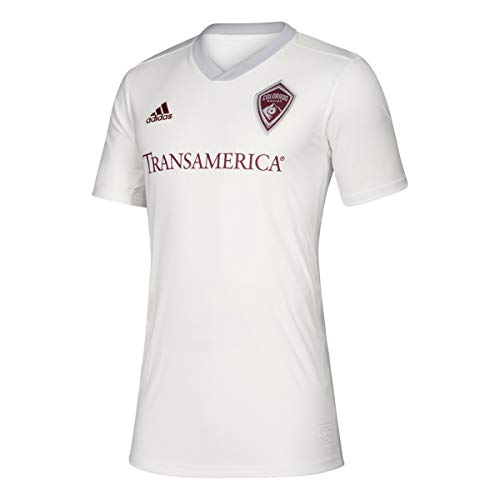 adidas Colorado Rapids MLS Men's White Official Climalite Team Replica Jersey (L)