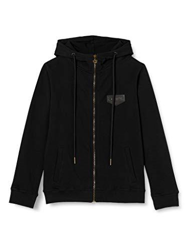 Gianni Kavanagh Black Core Hoodie Jacket Sudadera con Capucha, Negro, M para Mujer