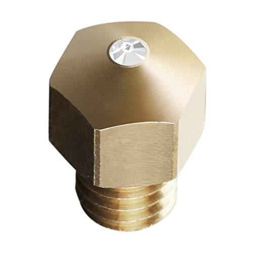 B Blesiya 1,75 Mm 3D Druckerdüse 0,4 Mm MK8 Extruderkopf Synthetische Edelsteinspitze