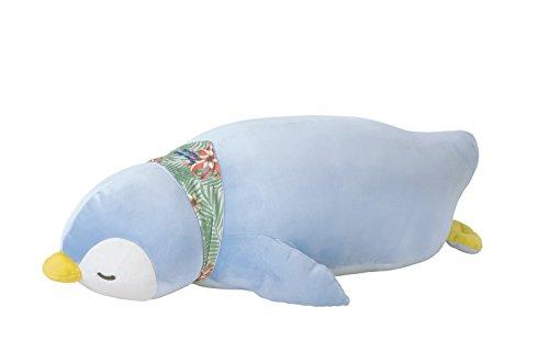 りぶはあと 抱き枕 プレミアムねむねむアニマルズクール ペンギンのラブ Lサイズ W60xD32xH18cm 58016-61