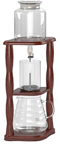 HARIO (ハリオ) ウォーターコーヒードリッパー・ウッド 水出しコーヒー 2~6杯用 WDW-6マルチ