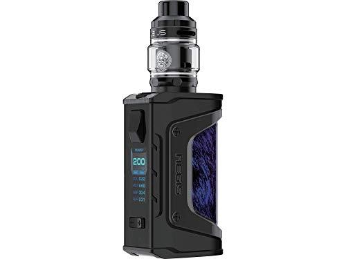 GeekVape Aegis Legend Zeus e zigarette - max. 200 Watt - Zeus Verdampfer 5ml - Farbe: schwarz-blau