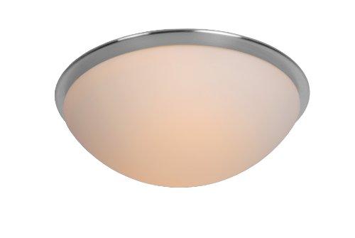 Lucide 12107/28/12 Balkan Plafonnier Diamètre: 28 cm 2 x E14 / 11 W inclus Verre